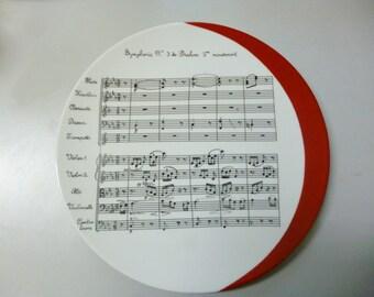 """Symphony"" Limoges porcelain dish"