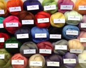 10 grams, Single Colours, Lovely soft and fine, felting wool, Wool Tops, wool,