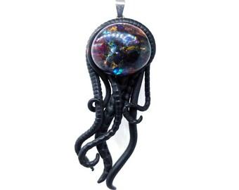 Universe 7 Jellyfish ~~~~ Galaxy Jellyfish pendant