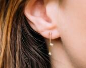 Daydreamer Stud Earrings - 14kt gold fill stud earrings