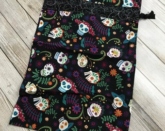 One Day Of The Dead cloth Travel Bag