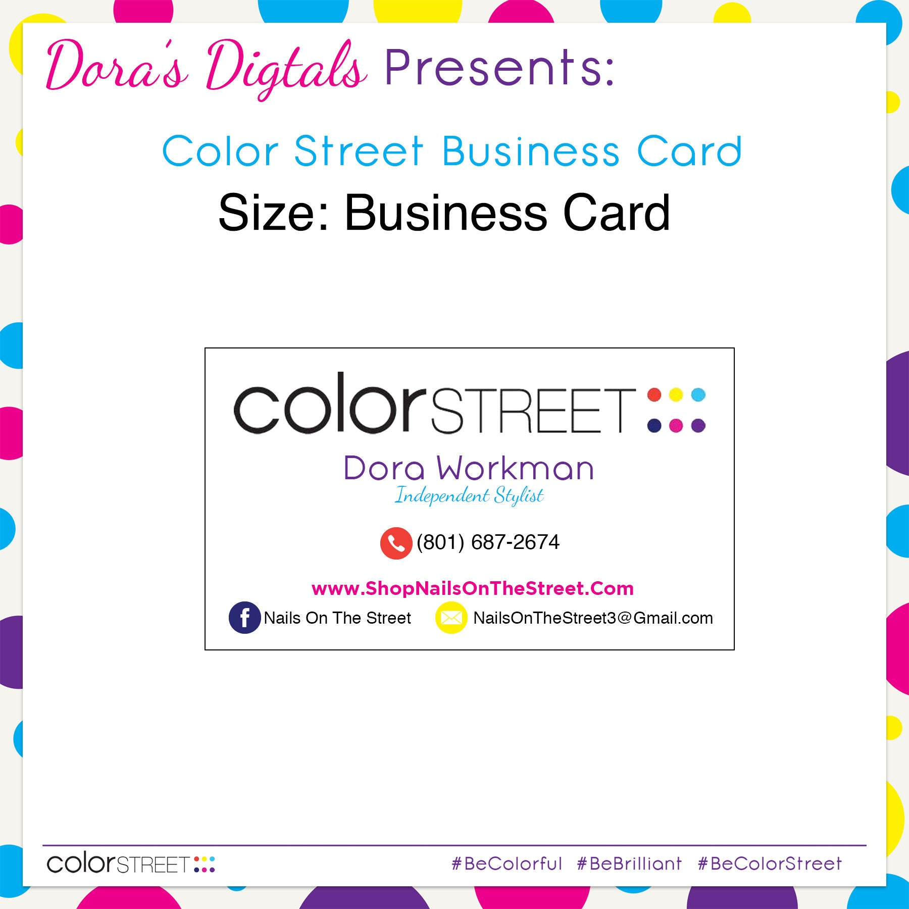color street business card 1 custom digital