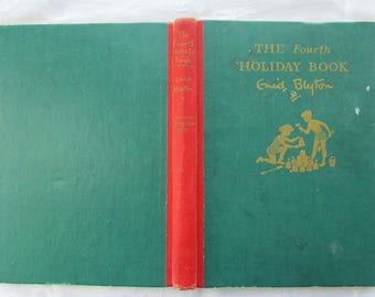 Vintage Enid Blyton: The Fourth Holiday Book - 1949 Stories and Puzzles