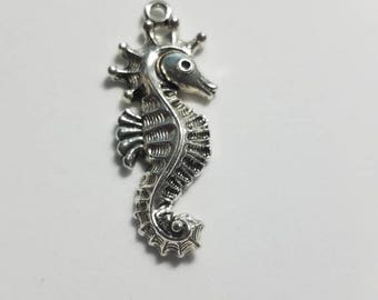 Silver Sea Horse  Pendant