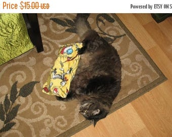 Summer Sale The Original Cat Wubbie Organic Catnip Toy Made to Order - Cats Love These!