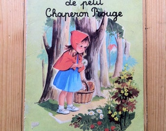 Le petit chaperon rouge, Vintage  Children Book
