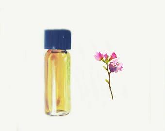 "Summer Perfume, Natural Perfume oil Sample ""Island"" Tropical Fruits and Vanilla Botanical Fragrance"