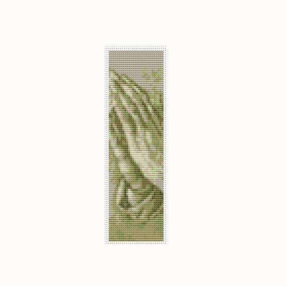 Praying Hands Bookmark Cross Stitch Kit Embroidery Kit