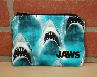 One Snack Sack, Jaws, Reusable Lunch Bags, Waste-Free Lunch, Machine Washable, Back to School, School Lunch, item #SS56