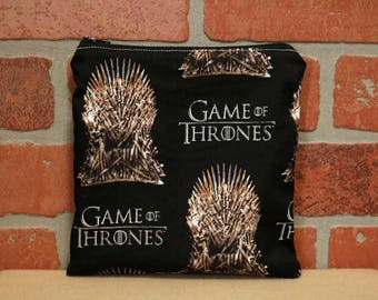 One Sandwich Bag, Reusable Lunch Bags, Waste-Free Lunch, Machine Washable, Game of Thrones, Sandwich Sacks, item #SS76