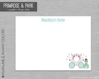 Thank You Cards Princess Printable // Personalized Stationary