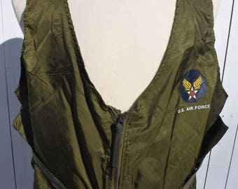 Military Vest, Alpha Industries Radio Vest, L, XL
