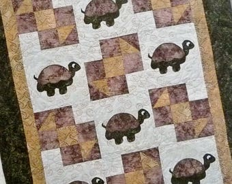 "Turtle Baby Quilt Pattern by Legacy Finished Size 39"" x 48"""