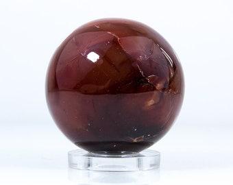 Carnelian Hardstone Blood-Stone Sphere