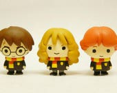 Kawaii Japanese Chibi Harry Potter Character Gashapon Toy Necklace