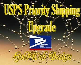 USPS Shipping Upgrade – Priority 2-3 Day, NOT guaranteed delivery date, United States only