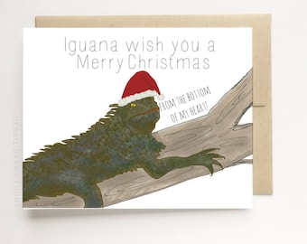 Christmas Cards Funny - Hipster Cards - Pun Cards - Humorous Christmas Cards - Funny Holiday Cards - Christmas Puns - Funny Holiday Cards