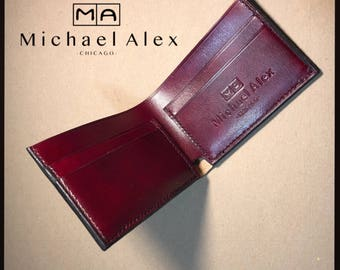 5 Pocket Oxblood leather wallet