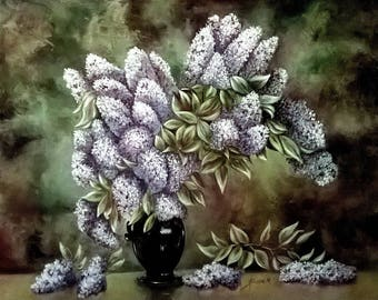 Bouquet of lilac - strasser nicole