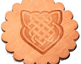 Knotted-Arrow 3-D Leathercraft Stamp 88491-00