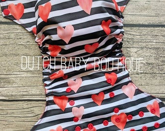 Sweetheart Stripe Ai2 Cloth Diaper