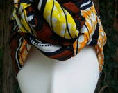 SALE: African Print Headwrap