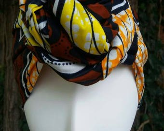 SALE: African Print Headwrap