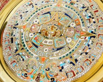 Mayan Calendar - wall decoration, mayan wall decoration
