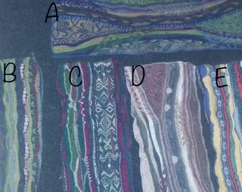 COOGI 3D Large pieces wool angora, many colors patterns available