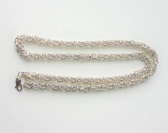Byzantine Rope Necklace