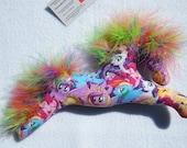 My Little Pony, mobile, plushie, babys room, baby shower, little girls room, rainbow, princess, unicorn, pegasus, pony club, party favor
