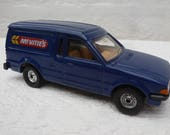 Blue van toy car replica collectors gift for him van 1984 birthday present vehicle blue mens England dads van mens diecast car model van UK