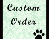 Custom listing for Coleshea - solid white bow tie collar set for cats