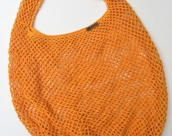Market Bag, Mesh Shopper, Reusable Bag, Crochet Market Bag, Tote Bag, Crochet Beach Bag, Crochet Shopping Bag, Eco Friendly Bag, Mesh Bag