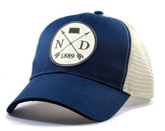 Homeland Tees North Dakota Arrow Hat - Trucker