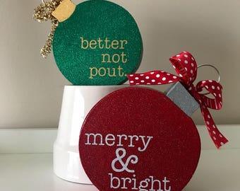 Standing Christmas Ornament