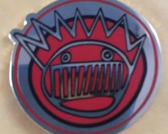 """1.25"""" Boognish Pin Ween Moistboyz Dean Ween Group"""