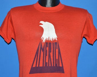 70s America The Band Eagle t-shirt Small