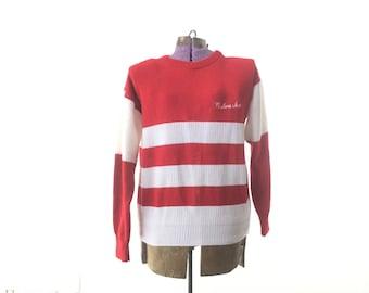 Nebraska Vintage Sweater, Nebraska Football Memorabilia,  medium, small, Cornhusker, Husker, UNL