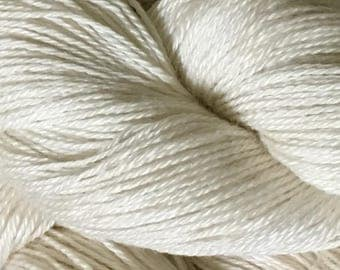 Natural Superfine Alpaca Silk Lace Yarn