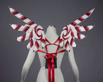 SAMPLE SALE - Candy Cane wings