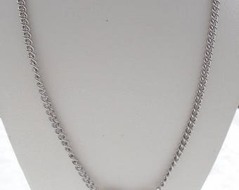 Necklace stainless steel infinity.