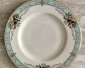 FREE SHIPPING - 6 Vintage Lenox Heritage Glen Bread and Butter Plates - Presidential Collection - Christmas Gift Idea - Christmas