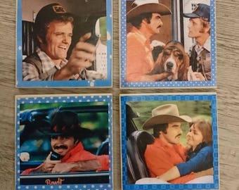Smokey and the Bandit Fun Coasters Set of 4