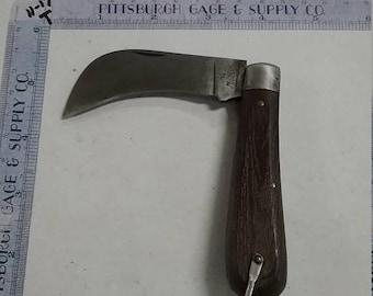 10% OFF 3 day sale Vintage used  klein tools Hawkbill knife