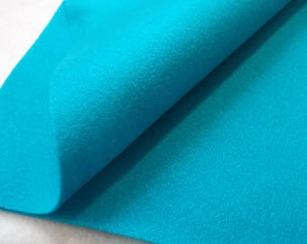 2 Felt Sheets,turquoise / pacific (535)