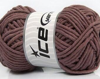 Wool / yarn 85m / 100g old pink -60% cotton