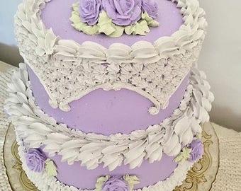 Victorian style fake cake