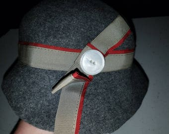 Vintage Ladies Wool Hat