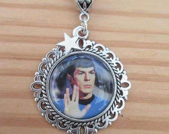 STAR TREK Spock Picture Necklace